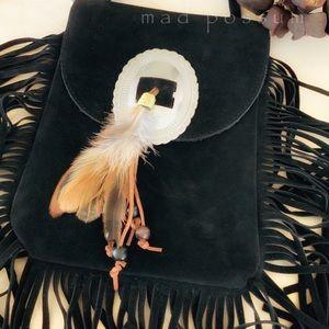 Bohemian Fringe Crossbody Bag
